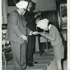Jasbir Singh Kang Winning General Schoarship Award