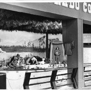 View of El Dorado County's exhibit booth at the California State Fair. ...