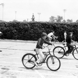 Bicycle Safety Class at Olive Park 1962