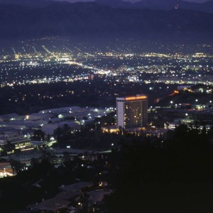 Universal Studios from Mulholland Drive