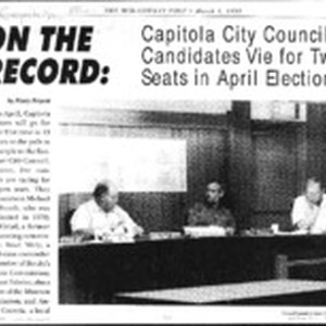 On the record: Capitola city council candidates vie for two seats in ...