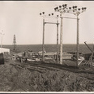 [Installation of telegraph poles]