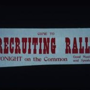 Come to recruiting rally tonight on the Common. Good music and speaking