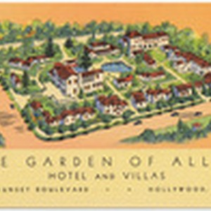 The Garden of Allah Hotel and Villas, 8152 Sunset Bouldevard, Hollywood, Calif.