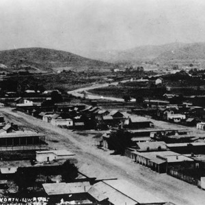 North Broadway in 1873