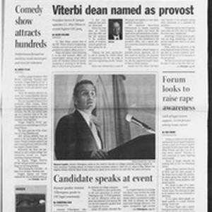 Daily Trojan, Vol. 154, No. 43, March 25, 2005