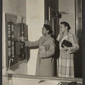 Home Office Employees operating time clock