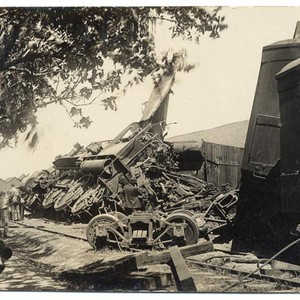 [Train wreck, Corning area?]
