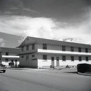 The barracks at Fort Ord