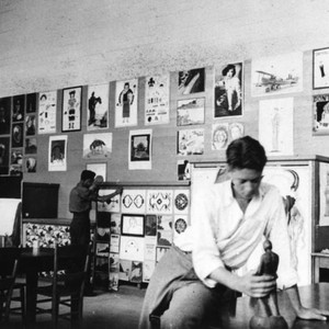 Art studio at Sherman Institute