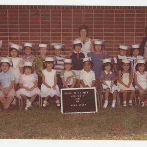 Class photo of Aeolian Elementary School Head Start, Los Nietos, California