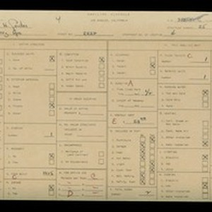 WPA household census for 2222 BARRY AVENUE, Los Angeles County