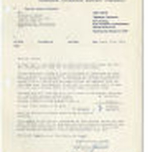 Letter from Hans Conzelmann, Munich, Germany to William G. Loose, Capitol Records, ...