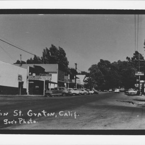 Main Street, Graton, California, 1960