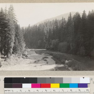 Eel River, South Fork. From Bull Creek Flat Road. Mouth of Bull ...