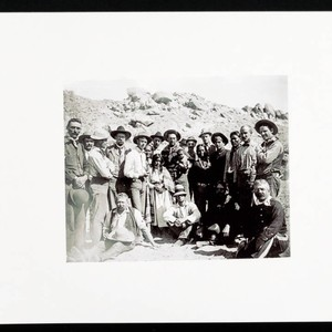 Native Americans, Soldiers, and other men in Southwest (Photo Print--Edna Burbank Hayes ...