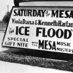 Mesa Theater advertising