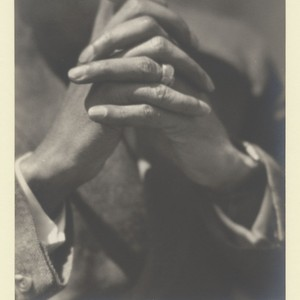 Roland Hayes [hands of]