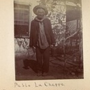 Pablo La Chappe, oldest man on the reservation