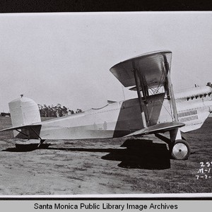 Douglas M-1 Mail Plane on Clover Field, Santa Monica, Calif., July 7, ...