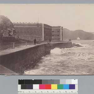 Fort Point from south east, San Francisco. [photographic print]