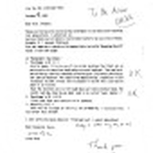Correspondence from Atsuo Ueda to Peter Drucker, 1998-11-06