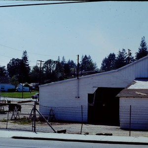 Rear of Columbo Lumber Company on South Main Street at Palm Avenue ...