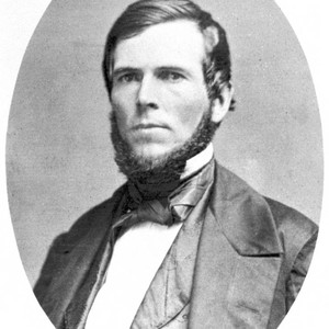 Portrait of John Bidwell taken 1840