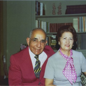 Photograph of Leon and Alice Peters