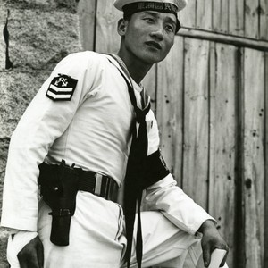 Portrait of a South Korean sailor