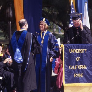 Chancellor Laurel Wilkening's inauguration ceremony.