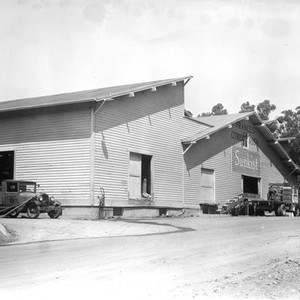 Frances packing house at Irvine Ranch, California: Photograph