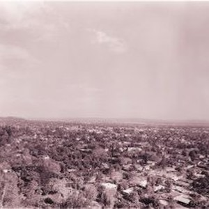 View of Monrovia from Big M