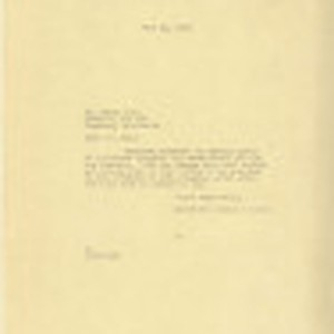 Letter from Dominguez Estate Company to Mr. Henry Aoto, June 22, 1939