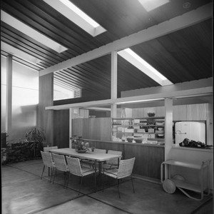 Walker, Rodney, residence. Dining room