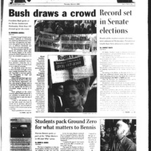 Daily Trojan, Vol. 151, No. 34, March 04, 2004