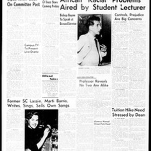 Daily Trojan, Vol. 49, No. 103, April 17, 1958