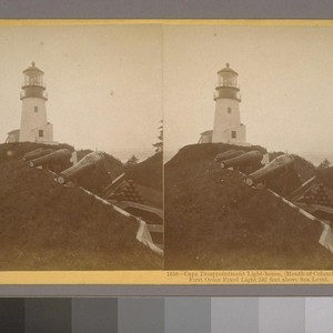 Cape Disappointment Light-house, (Mouth of Columbia River,) First Order Fixed Light, 232 ...