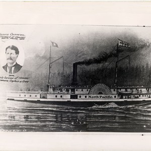 "[Wooden steamer ""North Pacific""]"