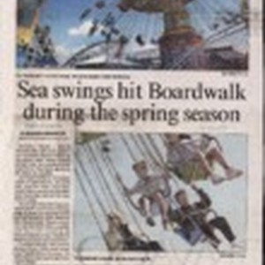 Sea swings hit Boardwalk during the spring season