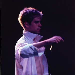 "Male performer in Halprin's ""Parades and Changes"""