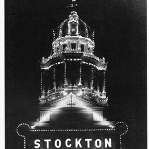 Courthouses - Stockton: San Joaquin Co. Courthouse dome, Main St. and San ...