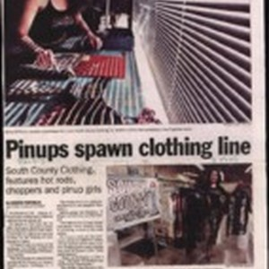 Pinups spawn clothing line
