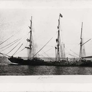 "[Sailing ship ""Ladstock""]"