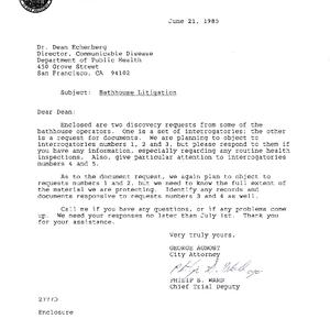 accompanying letter