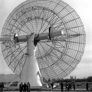 Goldstone radio antenna