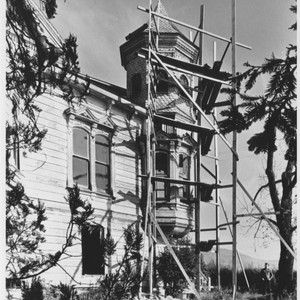 Unidentified two-story Victorian home in Sonoma County