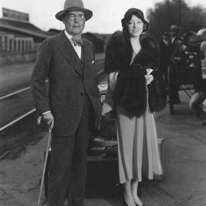 Marion Davies and Judge Bernard Douras