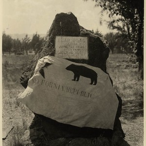 [Bear Flag Marker and Bear Flag, Sonoma]