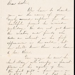 Robert Kelly III, letter, 1854 Apr. 22, to Mary Jane Kelly